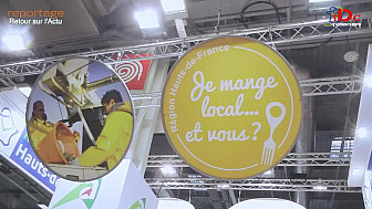 Des chefs et des produits au SIA ! Hauts-de-France- @tvdeschefs - @smartrezo - @Tvlocale