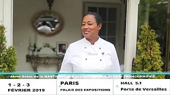 #BabetteDR - #Tvdeschefs - @smartrezo - Salon de la Gastronomie Outre-Mer - Paris