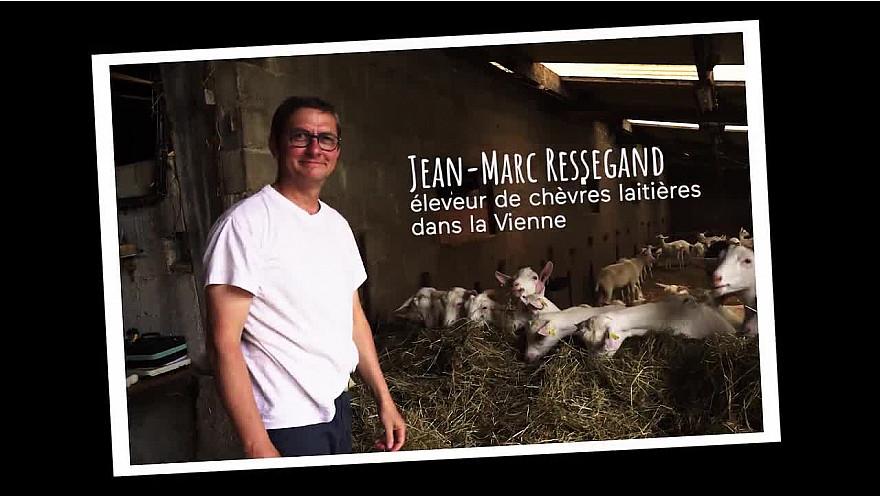 Jean-Marc Ressegand, éleveur de chèvres