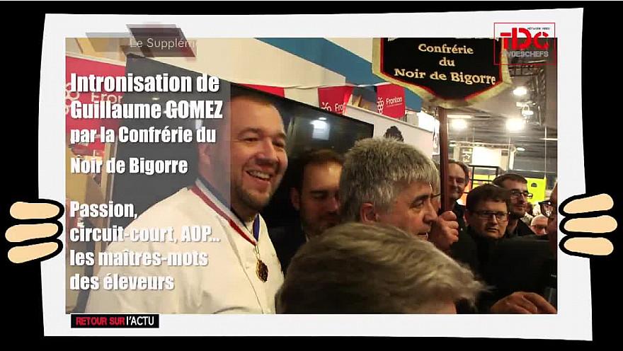 Guillaume GOMEZ et le Noir de Bigorre - @Salon_Agriculture_2019 -  @ggomez_chef @Tvdeschefs - @Smartrezo
