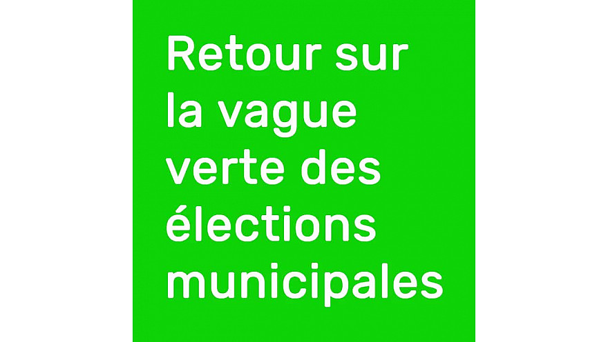 @BenoitBiteau : Félicitations aux nouvelles et nouveaux élus écologistes !