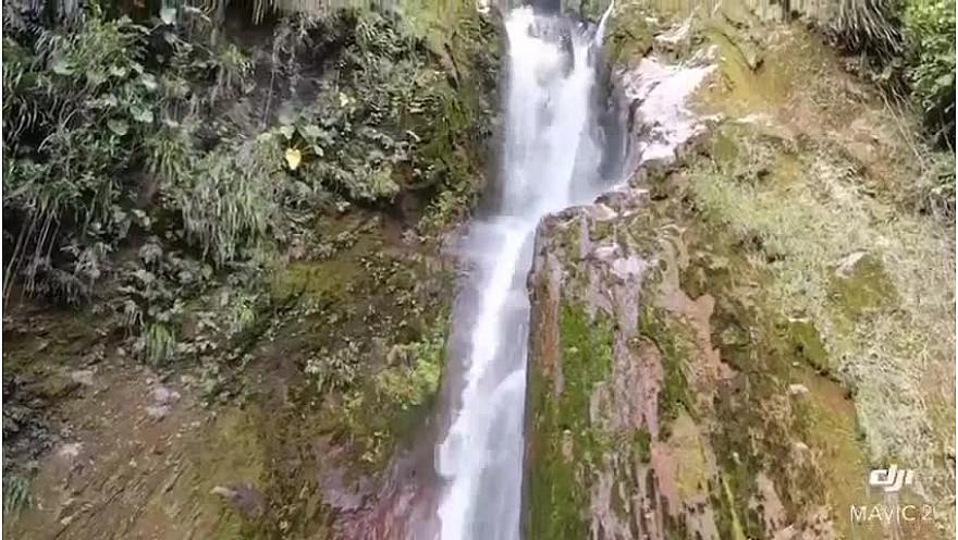 Les chutes du Carbet à Capèsterre Belle-Eaux (Guadeloupe). Sur les traces de Christophe Colomb.